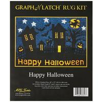 Happy Halloween MCG Latch Hook Kit 27x40""