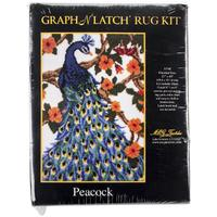 Peacock MCG Latch Hook Kit 27x40""