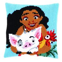 Disney Vaiana Moana, Adventures in Oceania, chunky cross stitch