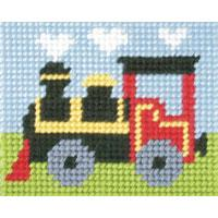 Toy Train - My First Embroidery Kit - 17x20cm approx