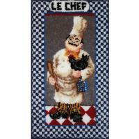 Le Chef Latch Hook Kit MCG Textiles 23x40 inches