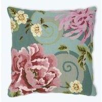 Floral Swirl In Green- Anchor Living Tapestry Kit ALR301 40 x 40
