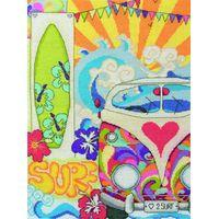 SURF Scene Counted Cross Stitch Kit  33x23cm ACS34