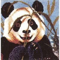 Peeking Panda MCG Latch Hook Kit 27x27""