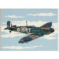 Anchor Tapestry Kit of a Spitfire - MR77519