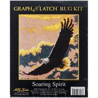 Soaring Spirit MCG Latch Hook Kit 30x36""