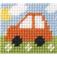 Mini Car- My First Embroidery Kit - 11x13cm approx