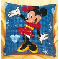 Minnie Mouse Chunky Cross Stitch Cushion Front kit 40