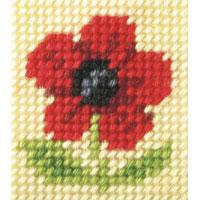 Poppy - My First Embroidery Kit - 11x13cm approx