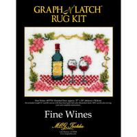 fine Wine MCG Latch Hook Kit 27x20""