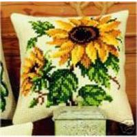 Beautiful Sunflower, Cushion Front Tapestry Kit