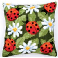 Ladybird Vervaco Cushion Front Tapestry Kit (103)