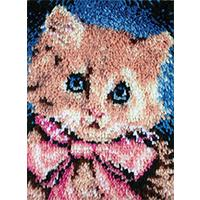Prize Kitty Latch Hook kit 15x20 inches