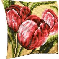 Tulips Cushion Front Tapestry Kit