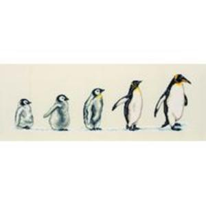 Penguins In A Row Counted Cross Stitch Kit  14x47cm