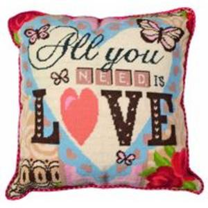 All You Need Is Love- Anchor Living Tapestry Kit  ALR62 40x40cm