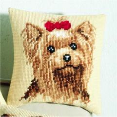 Yorkshire Terrier Cross Stitch Pattern