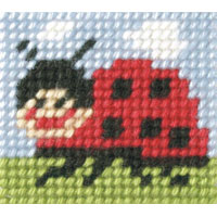 Ladybug - My First Embroidery Kit - 11x13cm approx