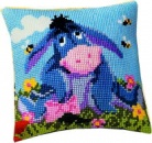 Eeyore.Disney Vervaco Chunky Cross Stitch Cushion Front Tapestry