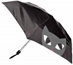 Lulu Guinness Kooky Cat Face Umbrella