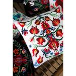 Vervaco Tapestry Cushion Front - FOLKLORE (White) - 40x40cm