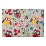 Knitting & Sewing Bag with Wooden Handles - Owl
