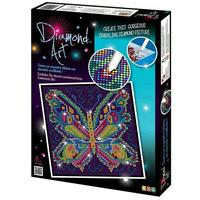 Diamond Art Kit Diamond Painting Kit - BUTTERFLY - 20x20cm Full