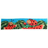 Watermelon Chunky Cross Stitch Cushion Bolster Kit