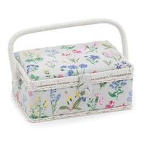 Spring Garden Design Small Sewing Basket