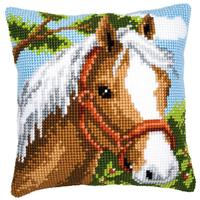 Pony With Bridle Chunky Cross Stitch Cushion Front kit PN-000862