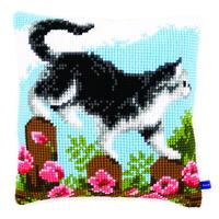 Exploring The Garden - Vervaco Chunky Cross Stitch Kit 40x40cm