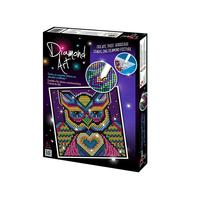 Diamond Art Kit Diamond Painting Kit - OWL - 20x20cm Full Drill