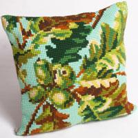Autumn Acorns Chunky Cross Stitch Cushion Front Kit
