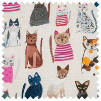 Hobby Gift 'Cats in Jumpers' Shoulder Bag 14 x 38 x 63cm (d/w/h)
