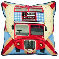 Red Bus On Union Jack - Anchor Living Tapestry Kit ALR76 40 x 40