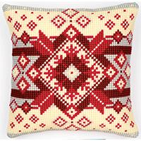 Nordic StarChunky Cross Stitch Cushion Front Kit