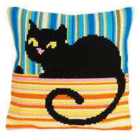 Madame Cool Chunky Cross Stitch Cushion Front Kit