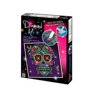 Diamond Art Kit Diamond Painting Kit - SKULL - 20x20cm Full Dril