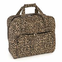 Sewing Machine Bag - Leopard Print  20x43x37cm