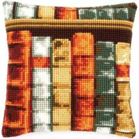 Books - Chunky Cross Stitch Cushion Front Kit 40x40cm