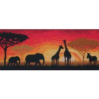 Anchor Maia Collection - African Horizon Counted Cross Stitch Ki