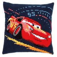 Lightning With Screeching Tyres Chunky Cross Stitch Kit