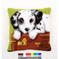 Dalmatian Chunky Cross Stitch Cushion Front Kit