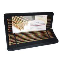 KnitPro Symfonie Wood Single Pointed Needles Set - 25cm long