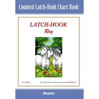 Counted Latch hook Chart - Horses - 90x134 holes