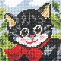 My First Embroidery Kit 16.5x16.5cm ~ Children/'s Tapestry Kit Birdhouse