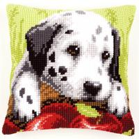 Dalmatian Puppy Chunky Cross Stitch Cushion Front Kit