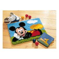 Mickey Mouse Latch Hook Kit 18x14""