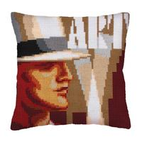 Art Deco 1 Chunky Cross Stitch Cushion Front Kit