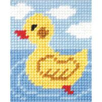Baby Duck - My First Embroidery Kit - 17x20cm approx